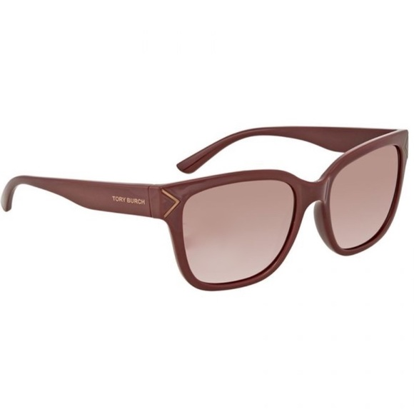 Tory Burch Accessories - Tory Burch Bordeaux Red Gradient Sunglasses